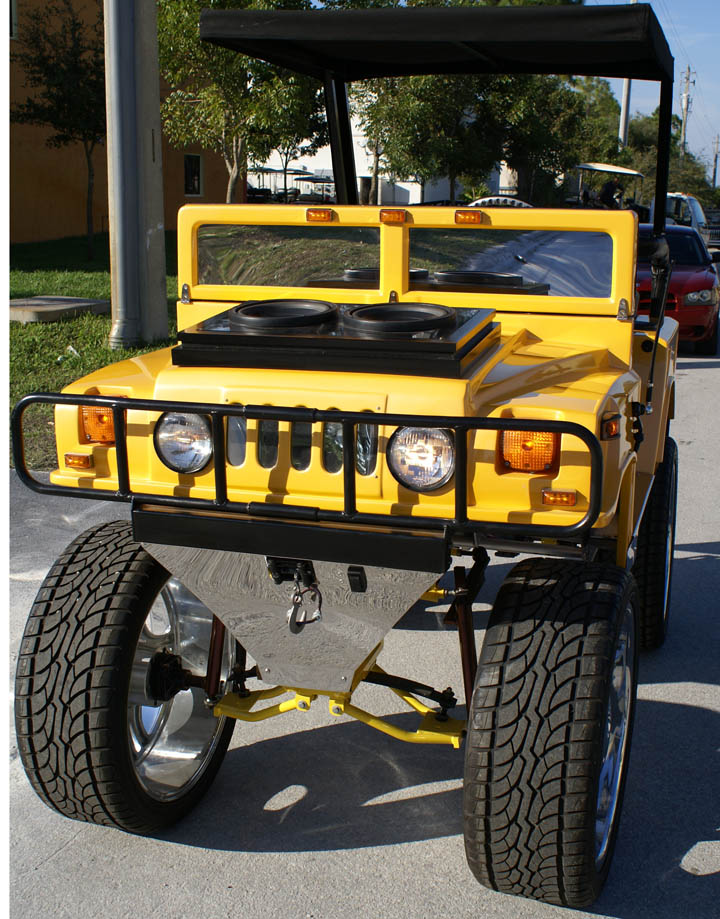 Big Boy Toys In Miami : Hummers